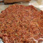 paleo, gluten free chicken crust pizza