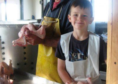 Family chicken processing csa custom processing